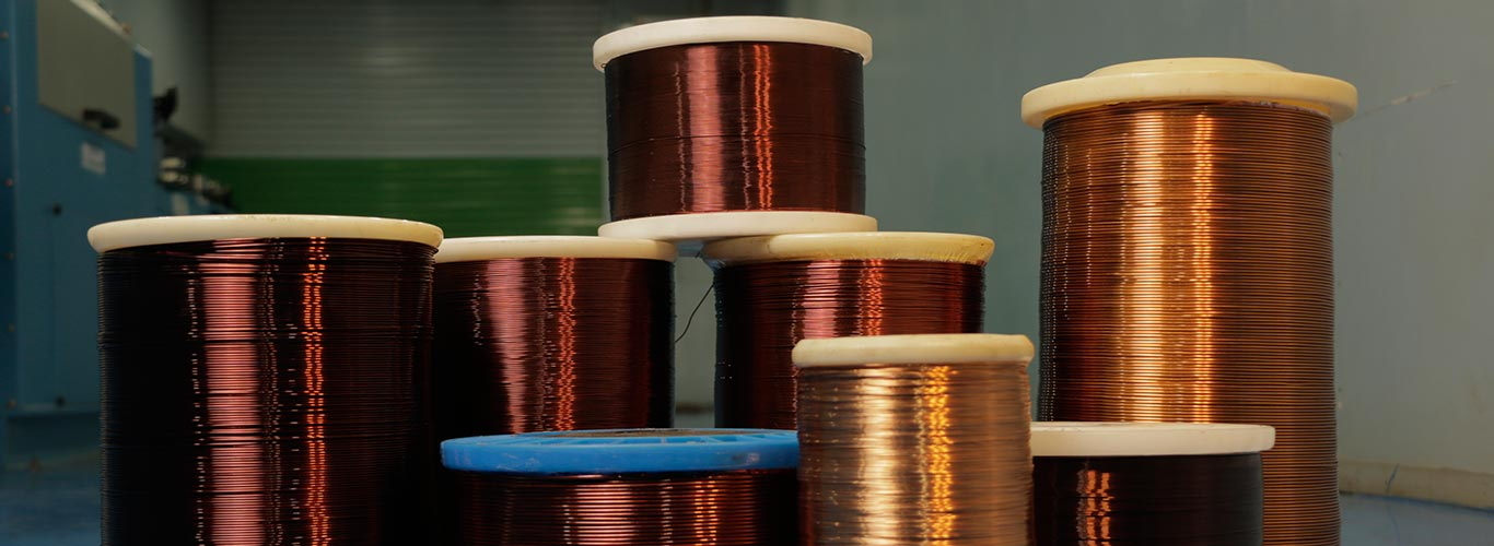 Enamelled copper wire | Enameled wire - SEPLCO India